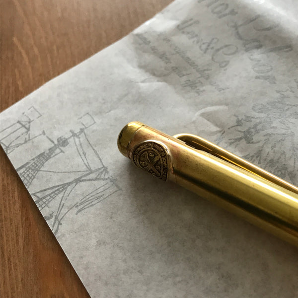 The Superior Labor Handmade Brass Ballpoint Pen