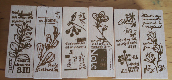 Chamil Garden Stamps - Bloom *FREE shipping*