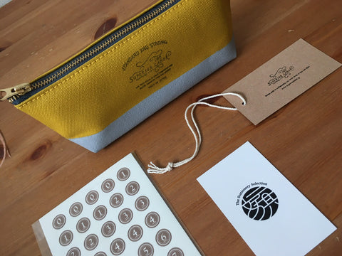 Original The Superior Labor Pouch × Classiky Seal set [Limited Edition]