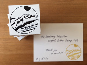 The Stationery Selection Original Rubber Stamp 003