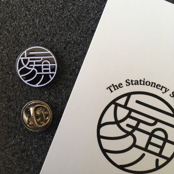 The Stationery Selection Original Pin 001