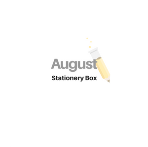 August 2020 Stationery Box *Not Subscription* READ BELOW for shipping delays