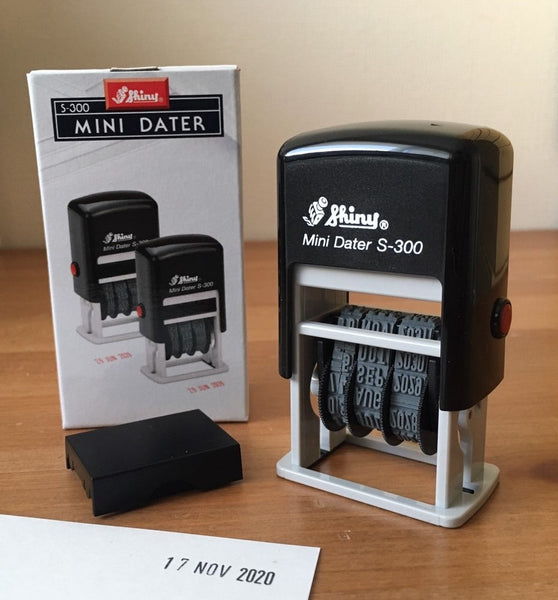 Mini Dater Self-inking Stamp