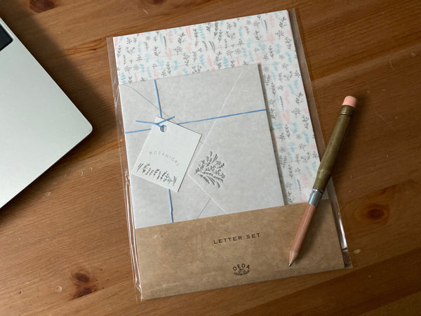 OEDA Letterpress Letter Set - Botanical