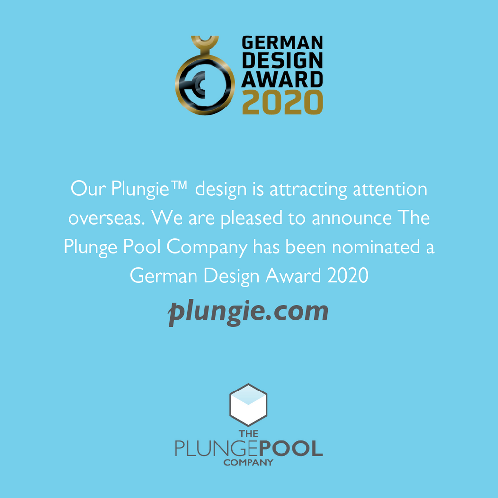 Plungie™ Nominated for German Design Award 2020