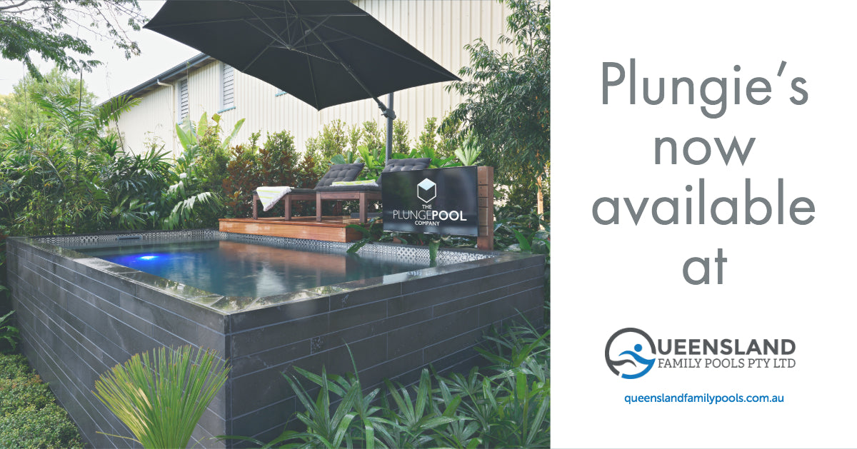 Plungie's now available at Queensland Family Pools