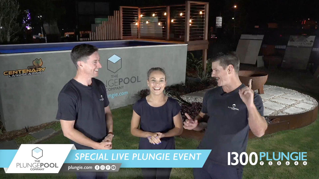 Plungie Live New Product Launch