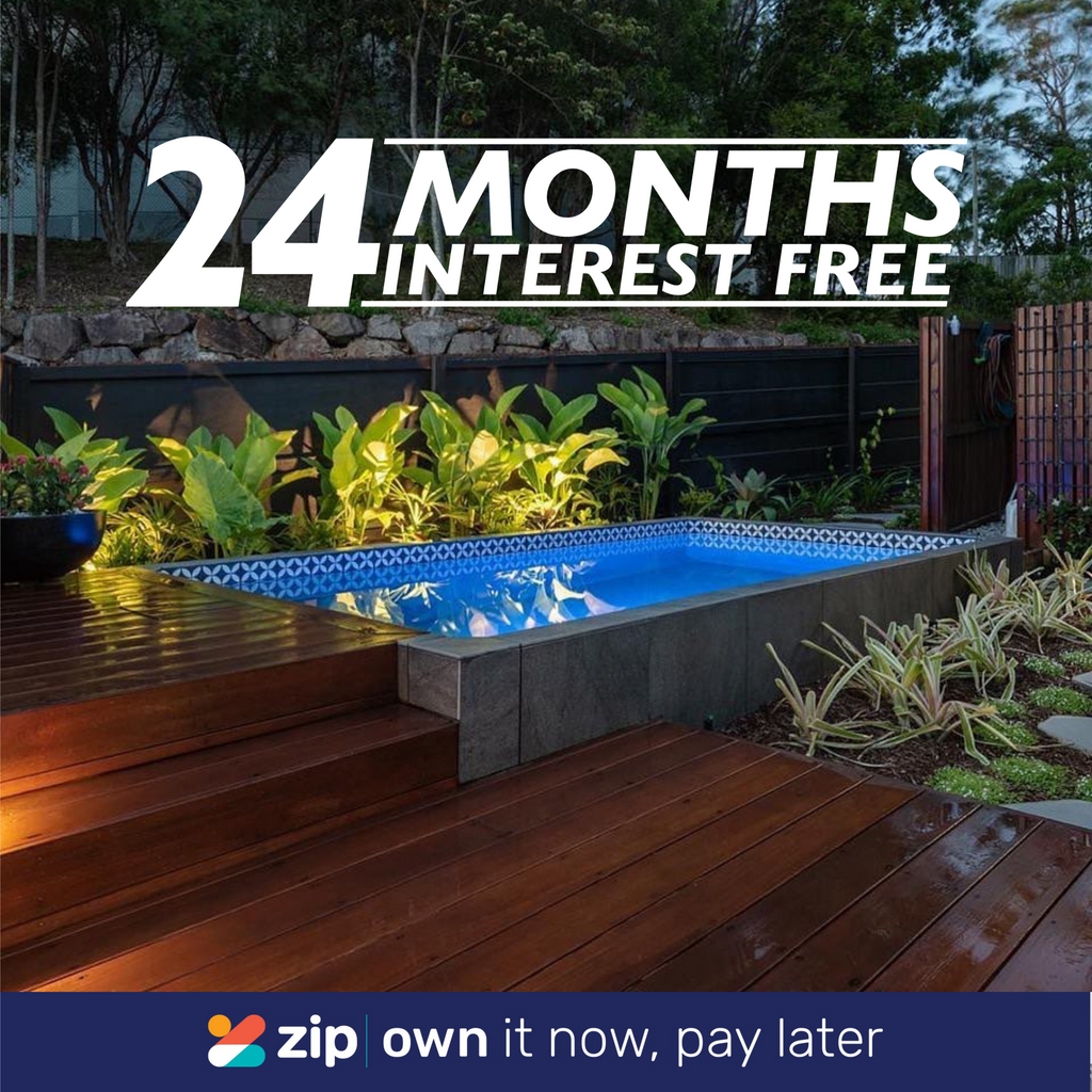 The Plunge Pool Company is excited to announce Zip payments!