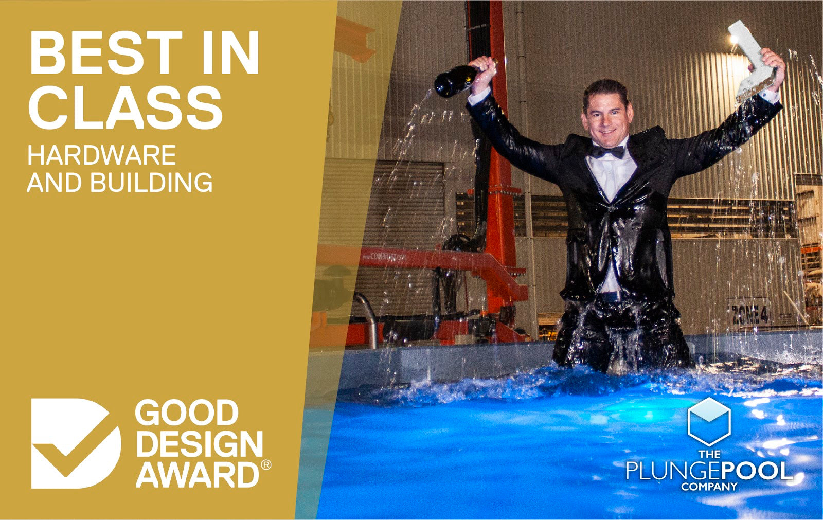 Earth Friendly Plungie™ Wins Australia's Coveted Good Design Award For Design Excellence