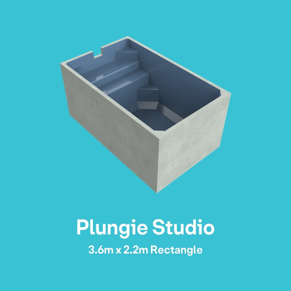 Plungie STUDIO (Rectangle 3.6m x 2.2m)