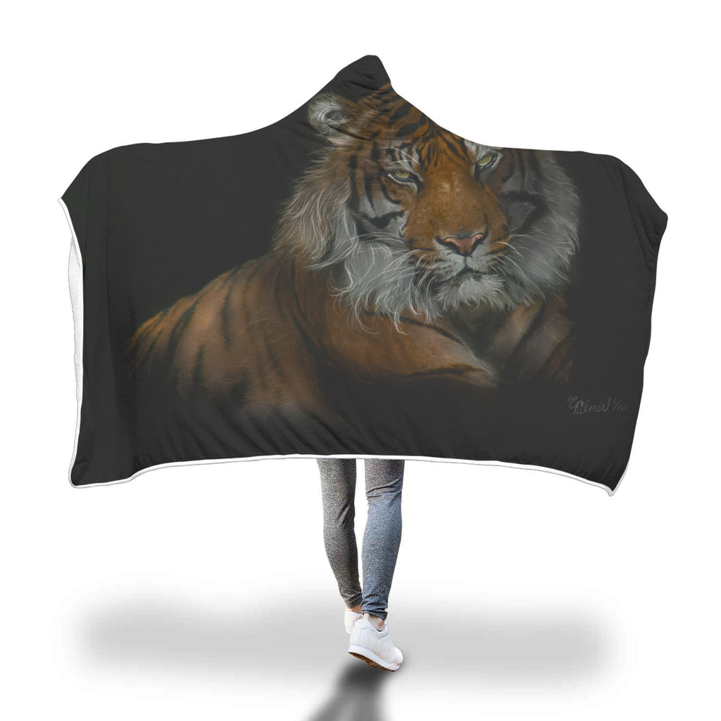 Siberian Tiger Blanket - Rebels and Roses Boutique