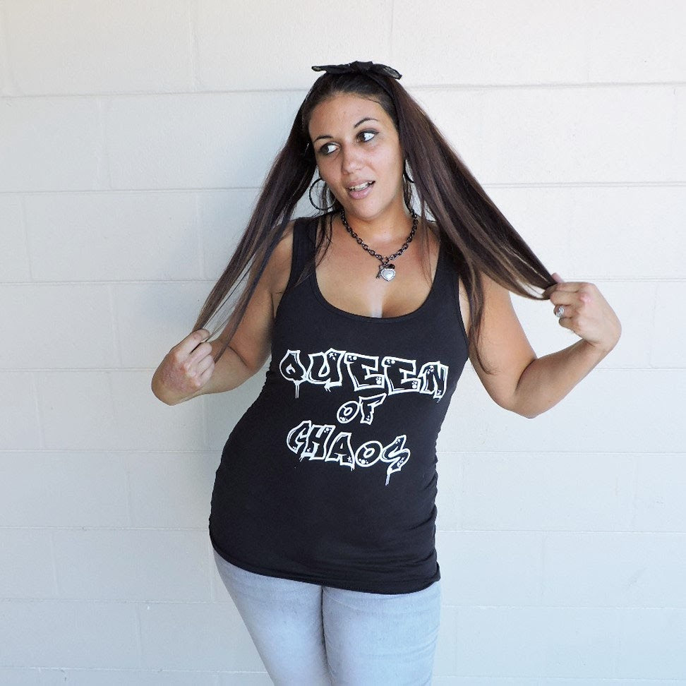 Queen of Chaos - Urban Mom Streetwear - Rebels and Roses Boutique