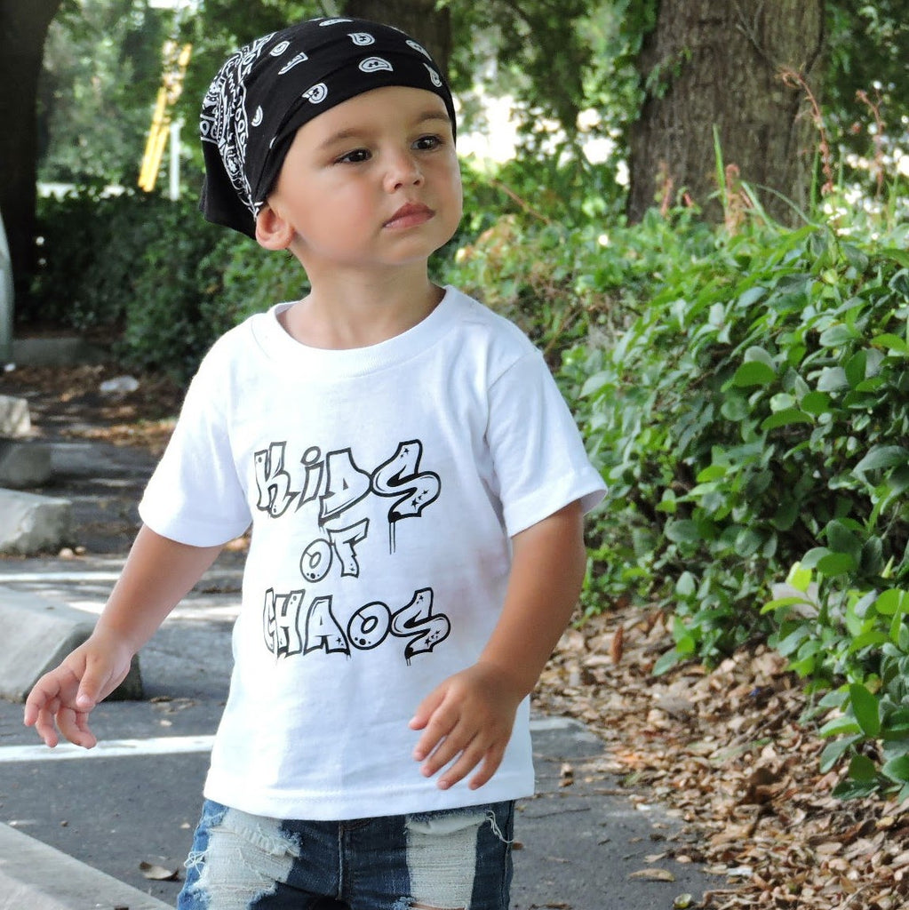 Kids of Chaos - Urban Kids Streetwear - Rebels and Roses Boutique