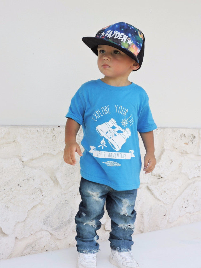 Explore Your Life - Boho Woodland Kids and Urban Kids Streetwear