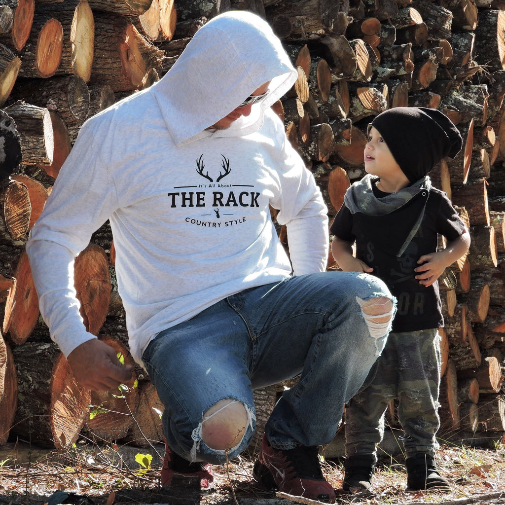 All About the Rack - Hoodies for Men - Rebels and Roses Boutique