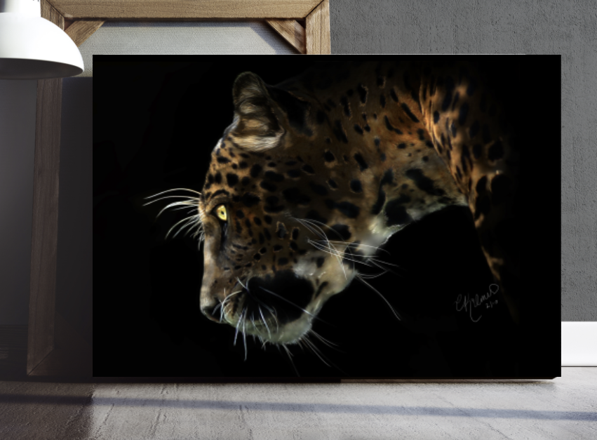 Jaguar Wall Art - Big Cat Print - Jaguar Poster - Rebels and Roses Boutique