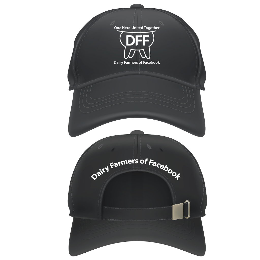 Dairy Farmers Of Facebook Group Ball Cap - Rebels and Roses Boutique