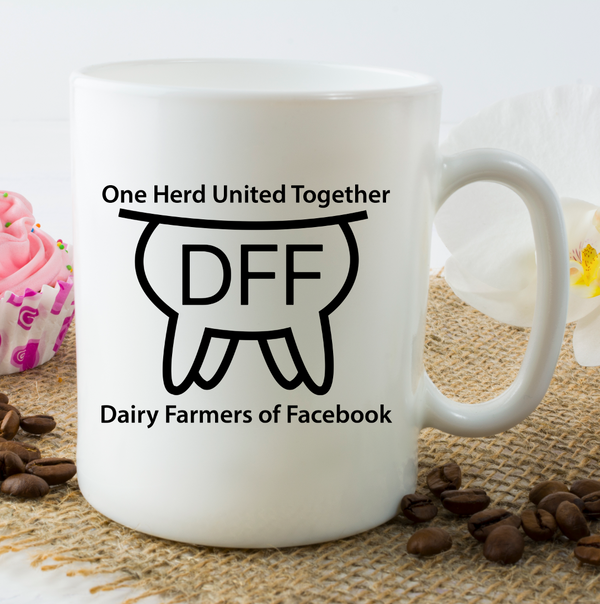 Dairy Farmer of Facebook Coffee Mug