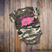Camo Baby Outfit - Bear Top for Baby - Gypsy Junk Clothing Trunk
