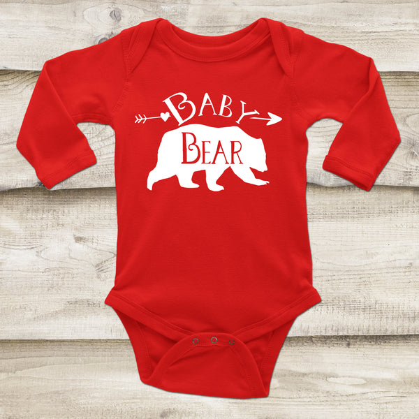 Baby Bear Bodysuit - Bear Top for Baby - Gypsy Junk Clothing Trunk