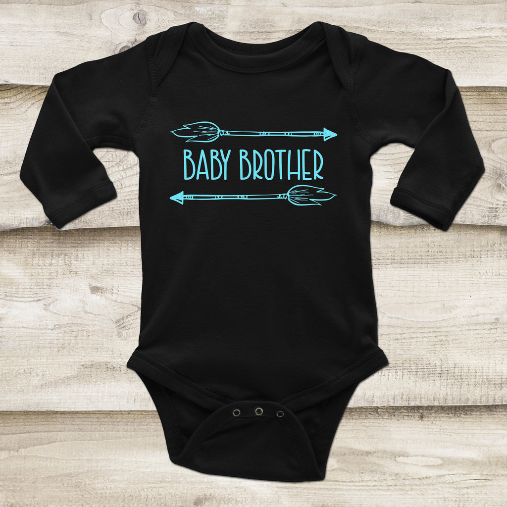Baby Brother Outfit - Sibling Baby Outfit - Rebels and Roses Boutique