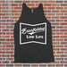 Bass Fishing Low Life Tank - Fishing Shirt for Men