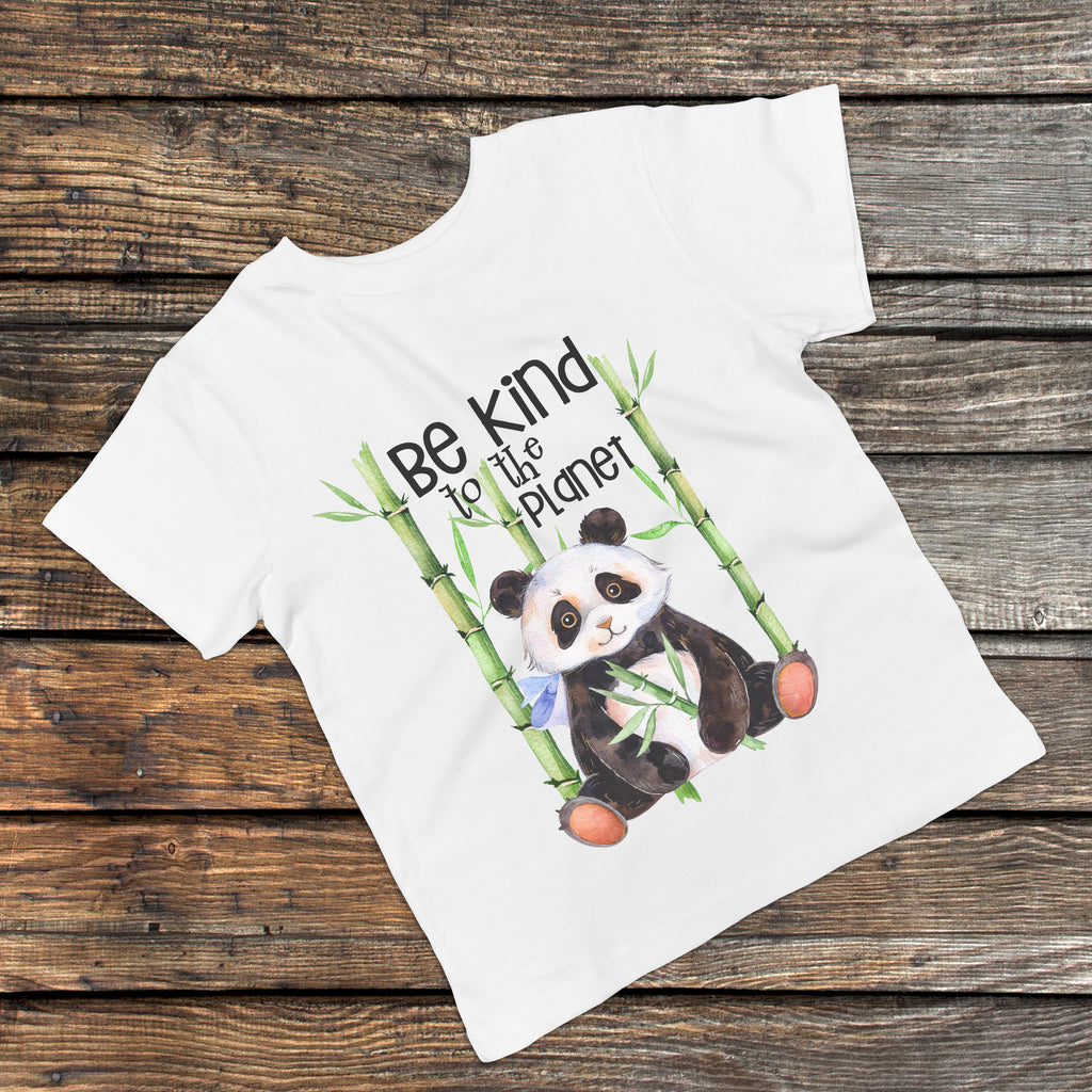 Be Kind To The Planet - Kids Earth Day Tee - Rebels and Roses Boutique