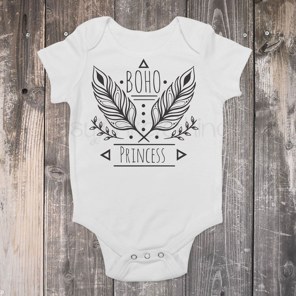 Boho Princess - Boho Baby Outfit - Rebels and Roses Boutique