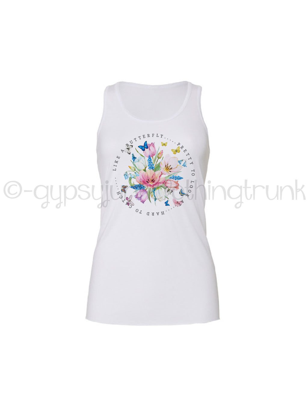 Butterfly Quote Tank Top