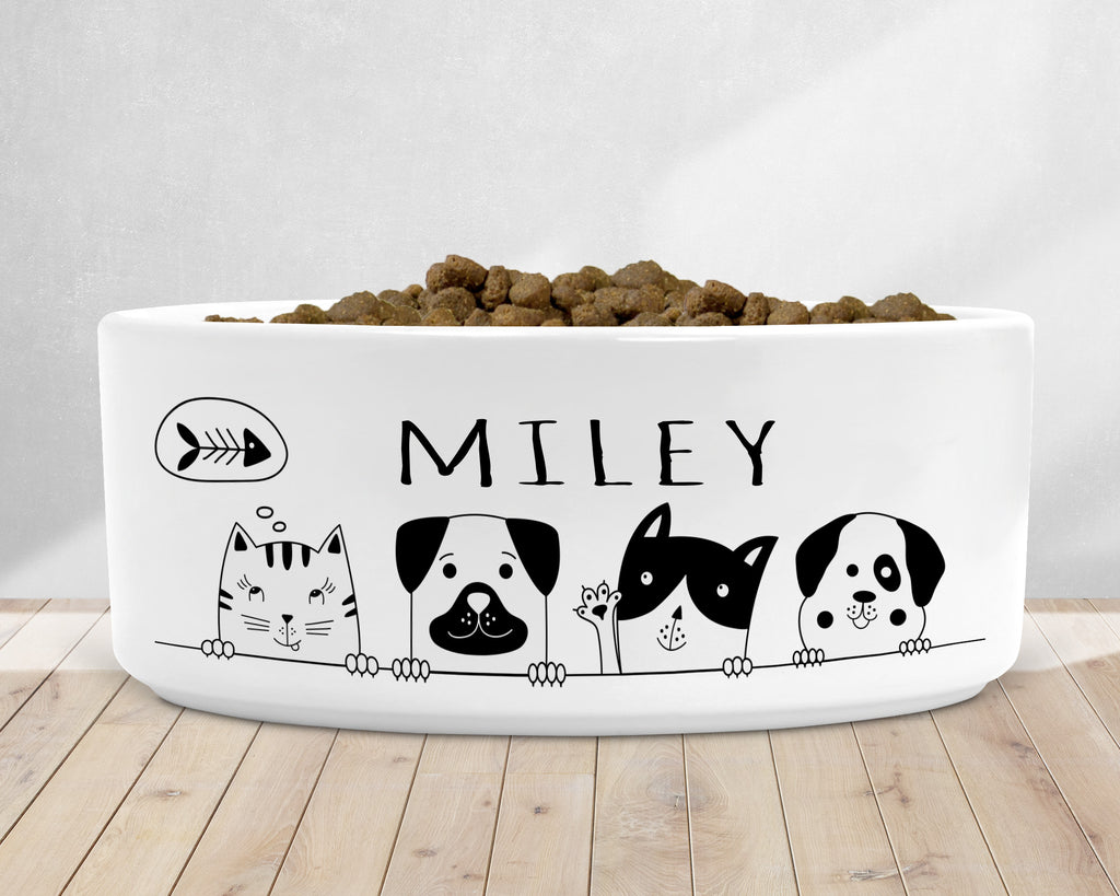 Cartoon Dog Dish - Rebels and Roses Boutique