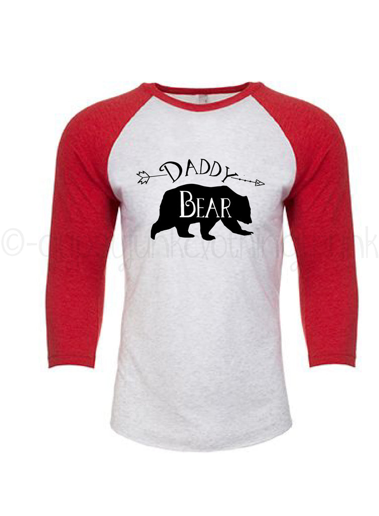 Daddy Bear Shirt - Bear Family Shirts for Men - Rebels and Roses Boutique