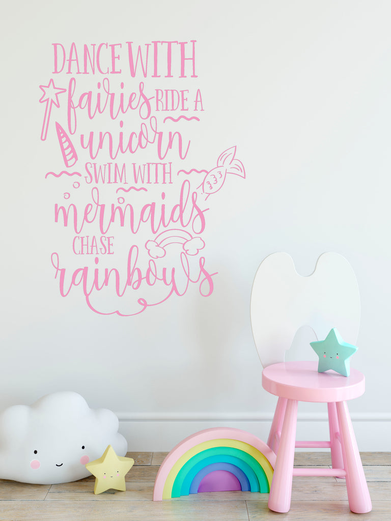 Dance With Fairies Wall Decals - Rebels and Roses Boutique