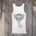 Elephant Spirit Animal Tank Top