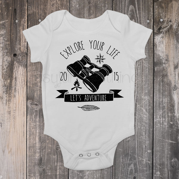 Explore Your Life - Camping/Outdoors Boho Baby Outfit - Rebels and Roses Boutique
