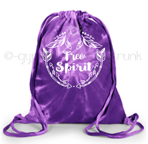 Free Spirit Tote Bag - Purple Swirl