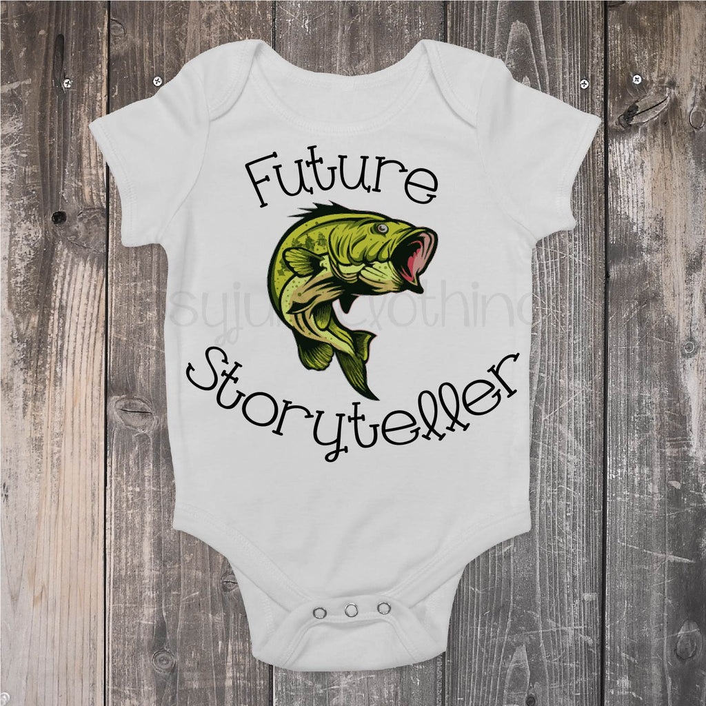 Future Storyteller - Fishing Top for Baby - Rebels and Roses Boutique