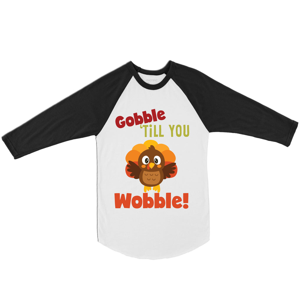 Gobble Till You Wobble - Thanksgiving Shirts for Kids - Rebels and Roses Boutique