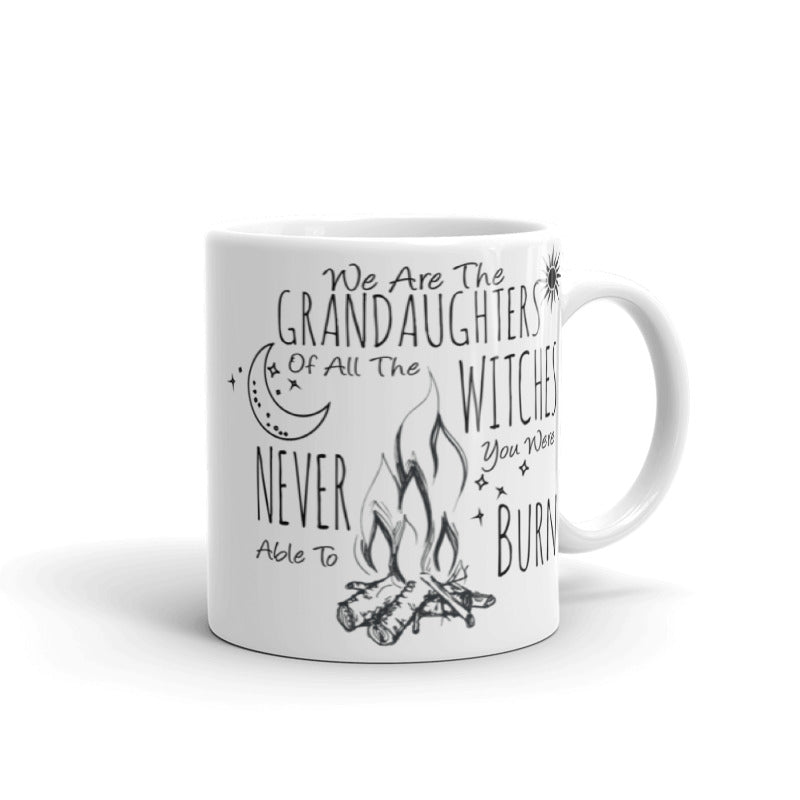 Grand Daughters of Witches Mystical Coffee Mug - Mystical Coffee - Rebels and Roses Boutique