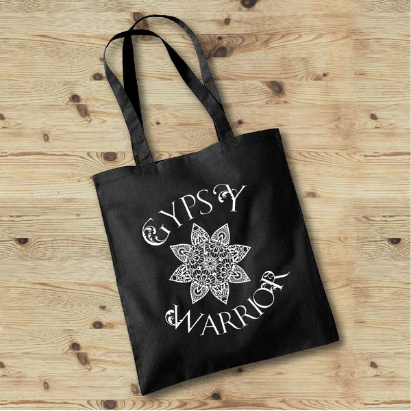Gypsy Warrior Boho Tote Bag - Gypsy Junk Clothing Trunk