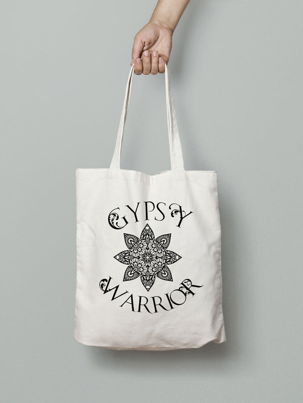 Gypsy Warrior Boho Tote Bag - Rebels and Roses Boutique