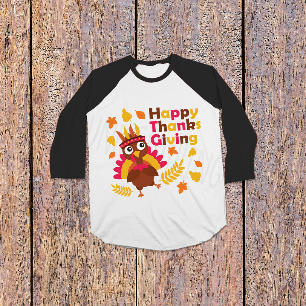 Turkey Day Shirt- Thanksgiving Shirts for Kids - Rebels and Roses Boutique