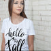 Hello Fall - Tee For Women