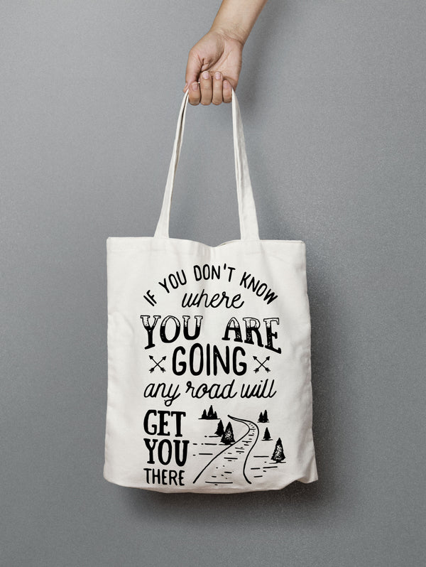 Inspirational Tote Bag - Canvas Boho Tote Bag - Rebels and Roses Boutique