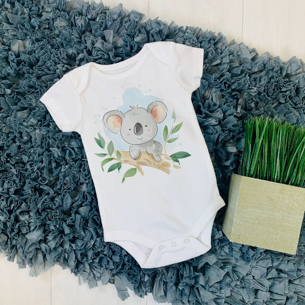Koala Baby Shirt - Animal Print Shirt - World Movement Tee - Rebels and Roses Boutique