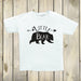 Little Bear Shirt - White and Black Crew Neck