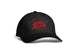 Mama Bear Black and Red Ball Cap