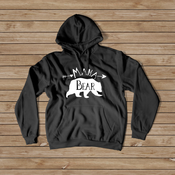 Mama Bear Hoodie - Women's Hoodie - Rebels and Roses Boutique