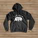 Mama Bear Black and White Hoodie