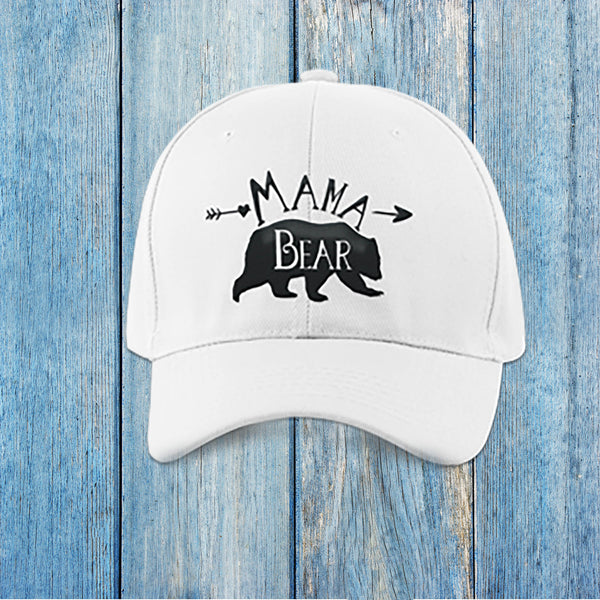 Mama Bear Trucker Cap - Hats for Women - Rebels and Roses Boutique