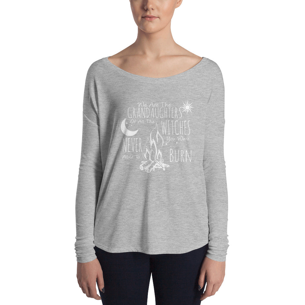 Sisterhood Collection - Grand Daughters of Witches - Slouchy Long Sleeve - Rebels and Roses Boutique